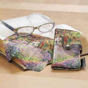 Accessories - Monets Garden Reading Glasses, Cloth and Case